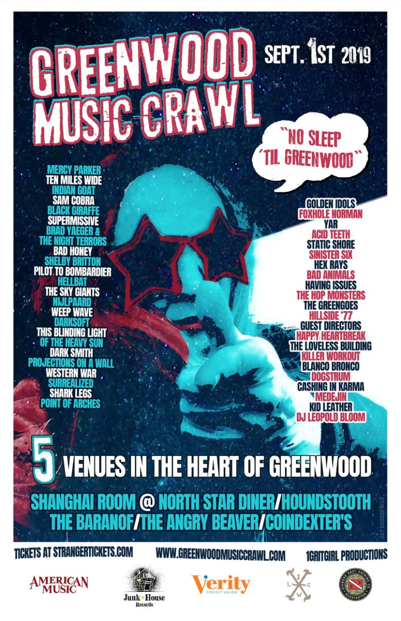 GREENWOOD MUSIC CRAWL 2019 in Seattle at North Star Diner &