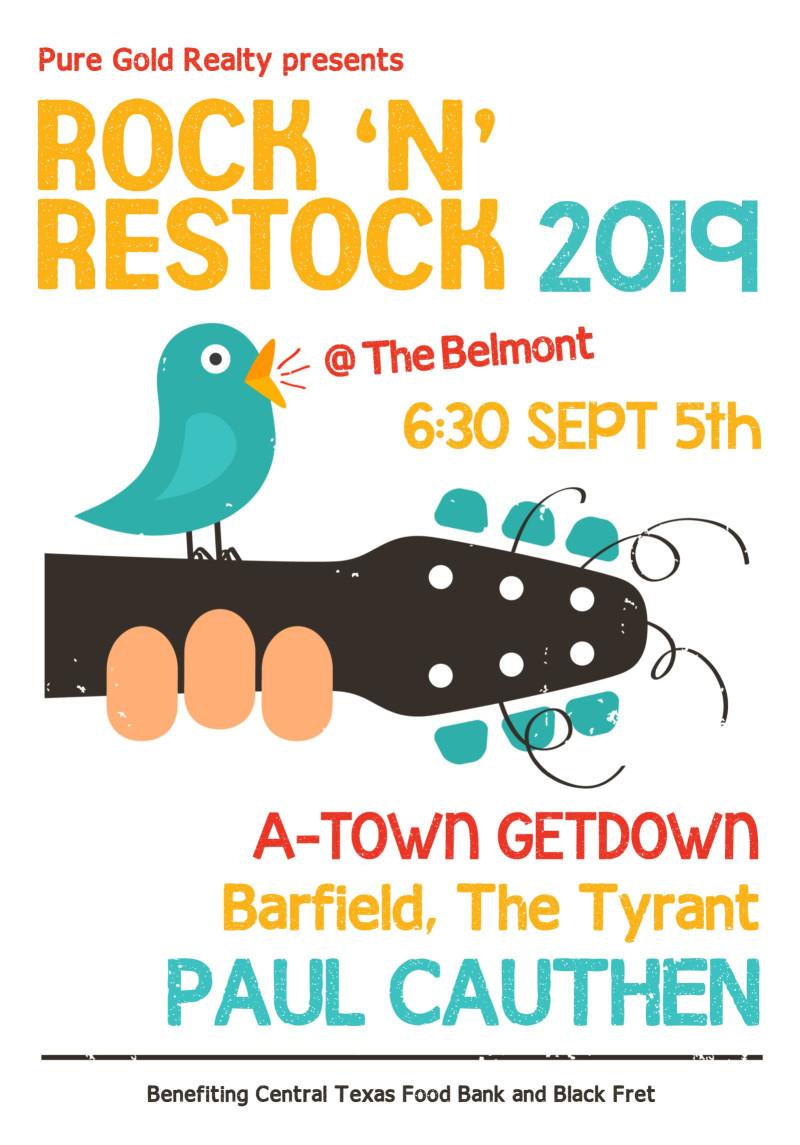 Rock 'N' Restock 2019 in Austin at The Belmont