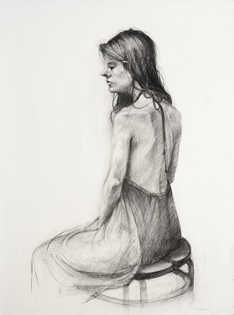 Figure Drawing Line Art