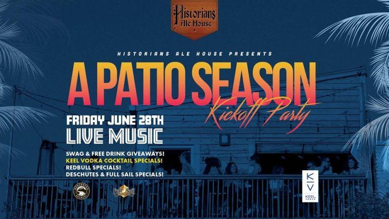 A Patio Season Kickoff Party in Denver at Historians Ale House