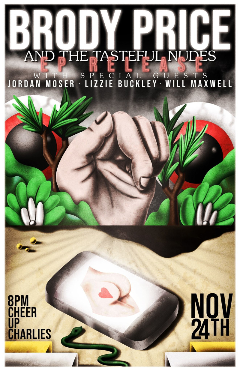 All About Lizzie 2012 brody price and the tasteful nudes ep release with jordan moser,