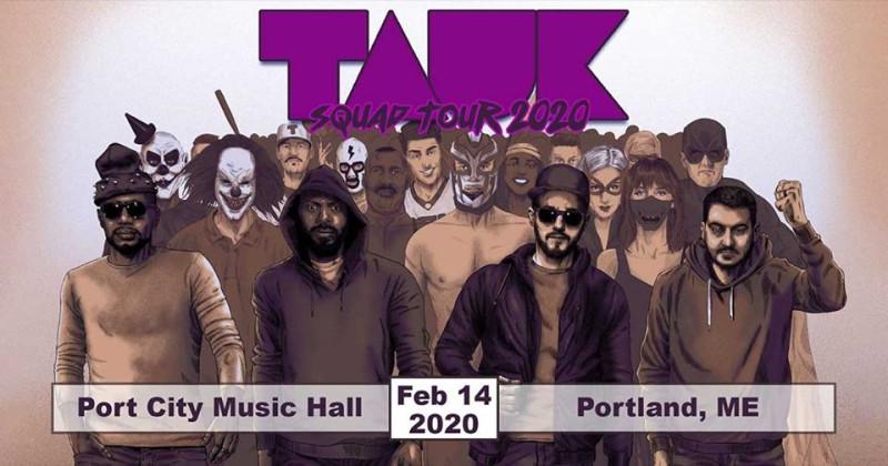 Tauk Halloween 2020 TAUK in Portland at Port City Music Hall