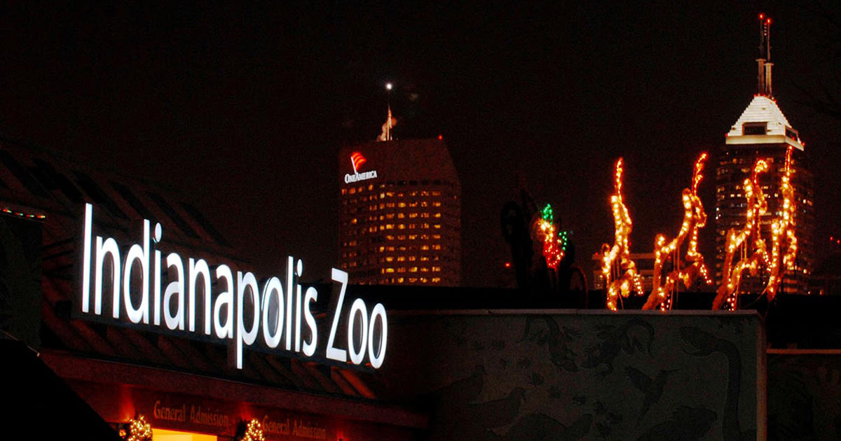 Must-See Christmas Lights In Indy