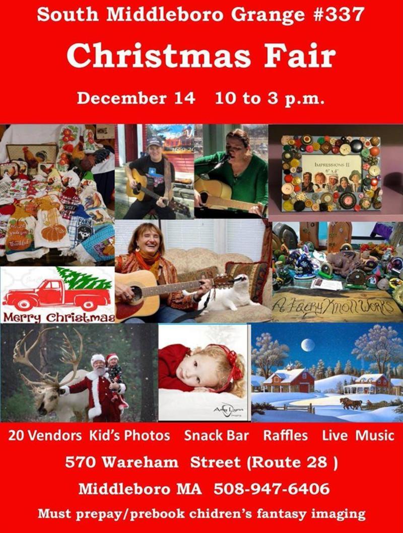 Middleboro Christmas Fair 2020 South Middleboro Grange #337 Christmas Fair! in Boston at 570