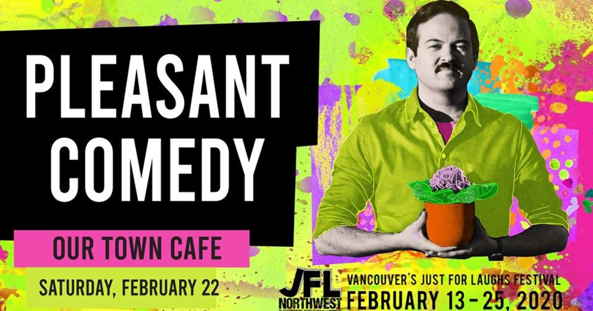 Pleasant Comedy at Our Town Cafe