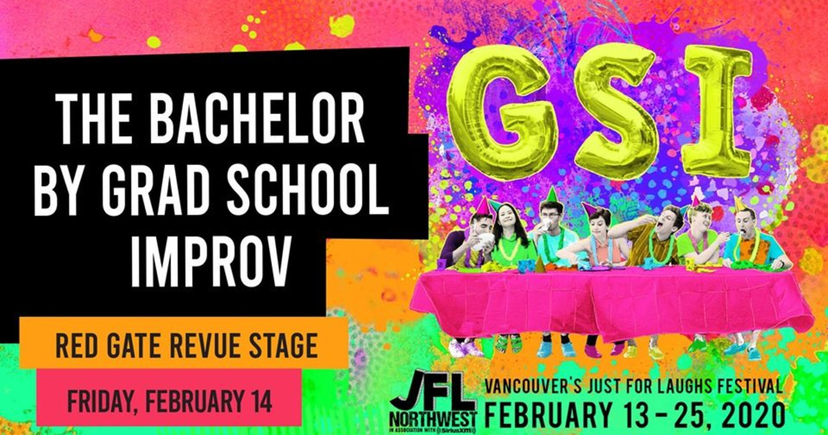 The Bachelor by Grad School Improv at Red Gate Revue Stage