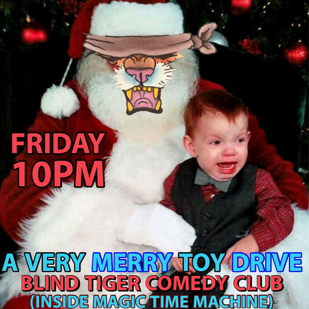 A Very Merry Toy Drive In San Antonio At The Blind Tiger