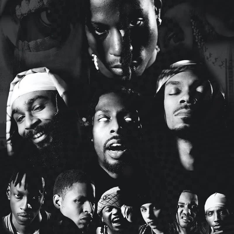 Escape From New York Signed Poster Flatbush Zombies Joey Badass Beast Coast