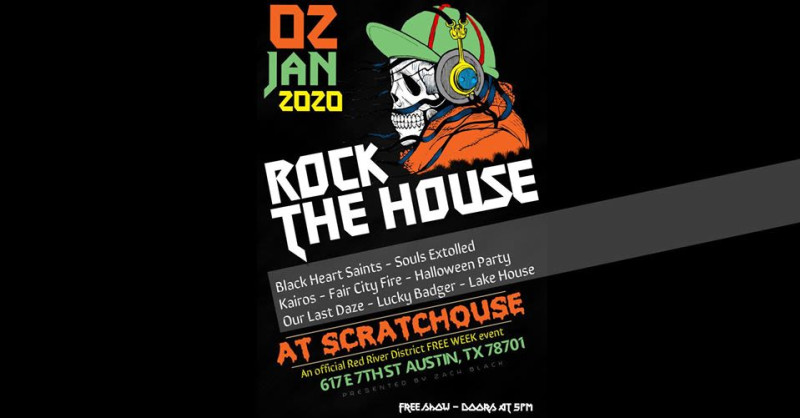 Halloween 2020 Do 512 Free Week: Rock the House in Austin at ScratcHouse
