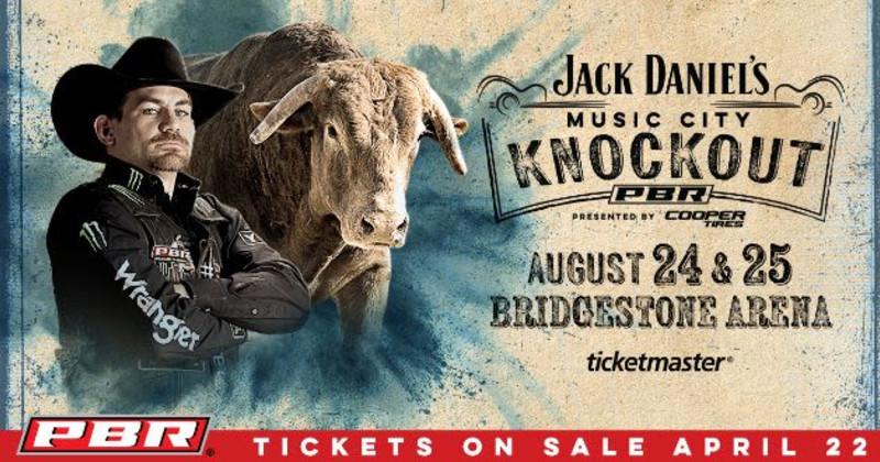 Professional Bull Riders in Nashville at Bridgestone Arena