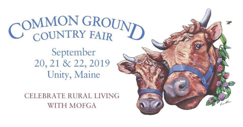 Common Ground Country Fair 2019 in Boston at Maine Organic