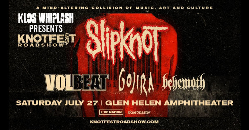 db7d54cc4 Knotfest Roadshow featuring Slipknot in San Bernardino at Glen