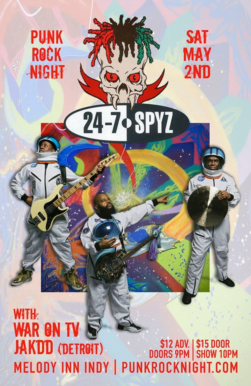 Melpdy Inn Halloween Show 2020 24 7 Spyz, War on Tv, Jakdd in Indianapolis at The Melody Inn