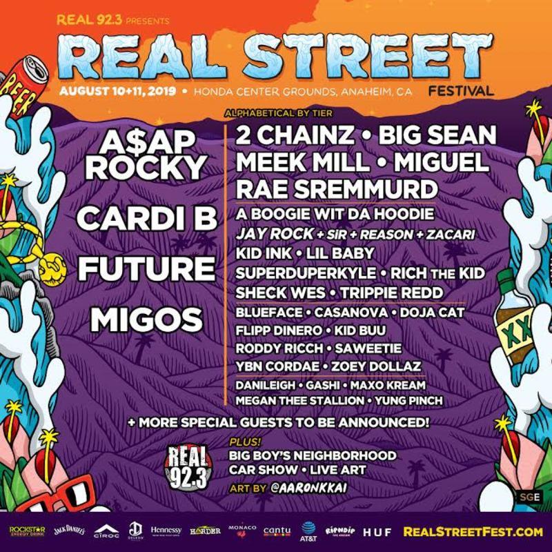 Real Street Festival in Anaheim at Honda Center
