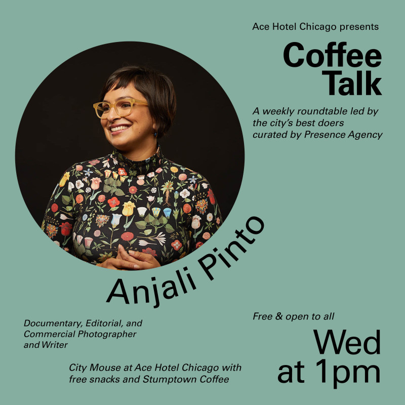 Coffee Talk: Anjali Pinto in Chicago at Ace Hotel Chicago