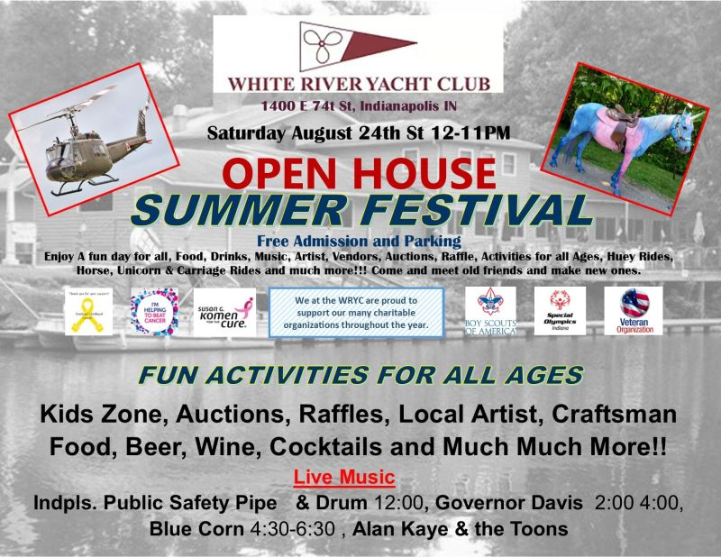 Summer Festival & Open House in Indianapolis at White River