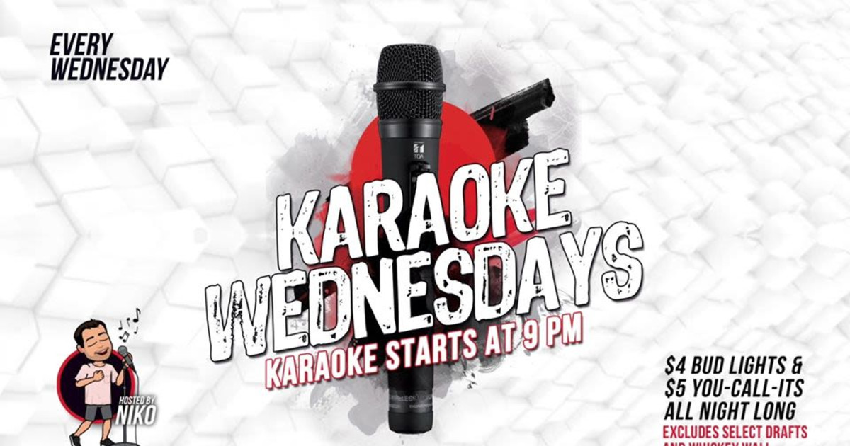 Chicago 7/1/20 Karaoke Wednesdays!
