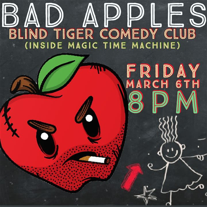 Bad Apples: A Comedy Show For Teachers In San Antonio At