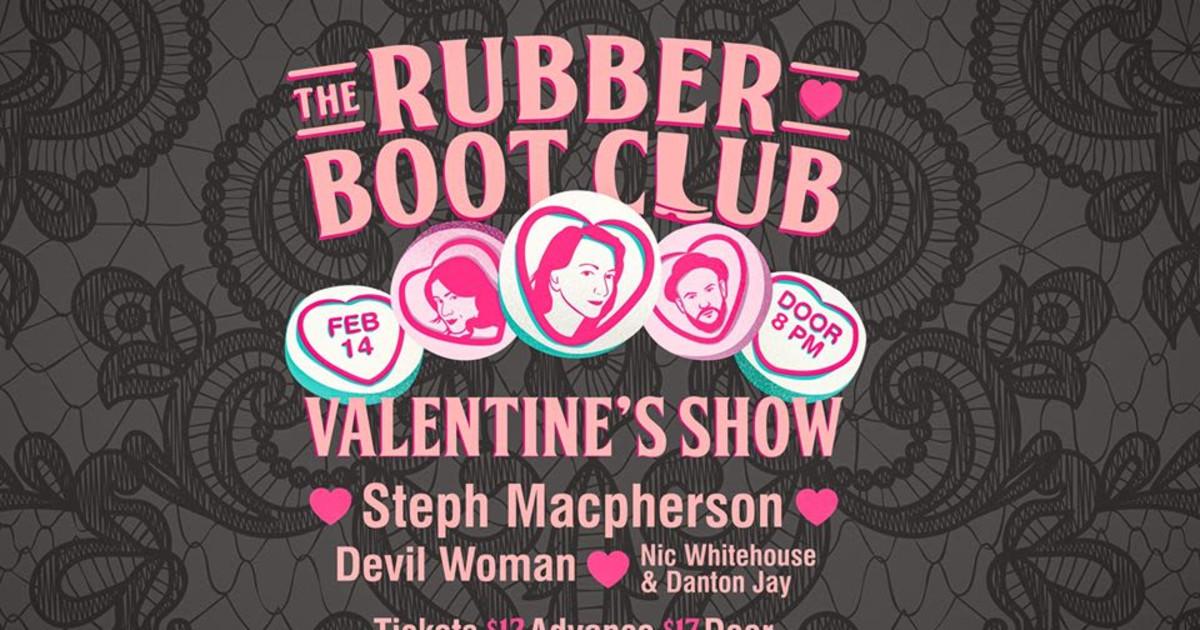 Valentine's Show w Steph Macpherson & Friends