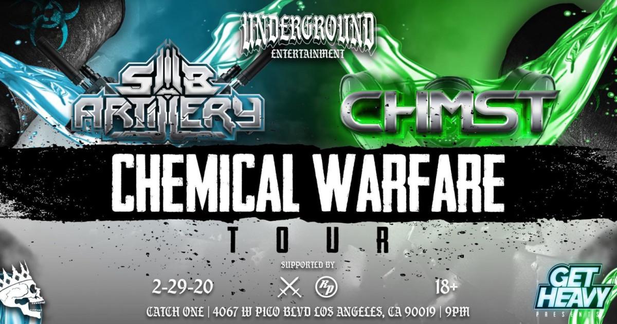 CHEMICAL WARFARE TOUR – SUB ARTILLERY / CHMST Feb. 29