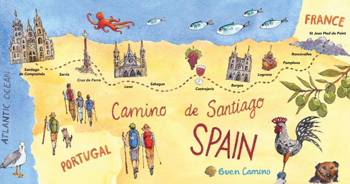 Guest Speaker: An Artist's Pilgrimage on The Camino De Santiago