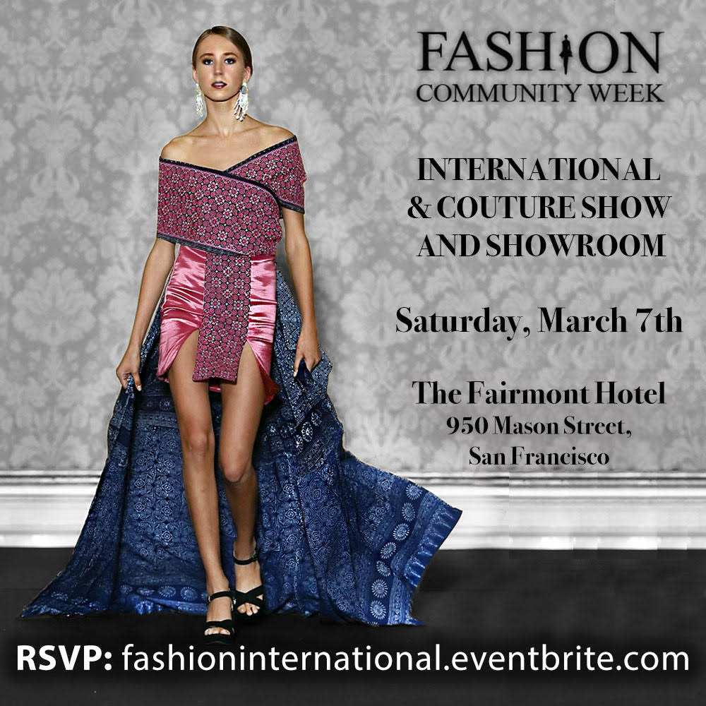 International Couture Show And Showroom In The Bay Area At