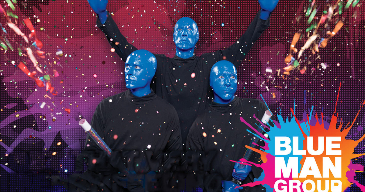 Blue Man Group: Worldwide Sensation at the Charles Playhouse