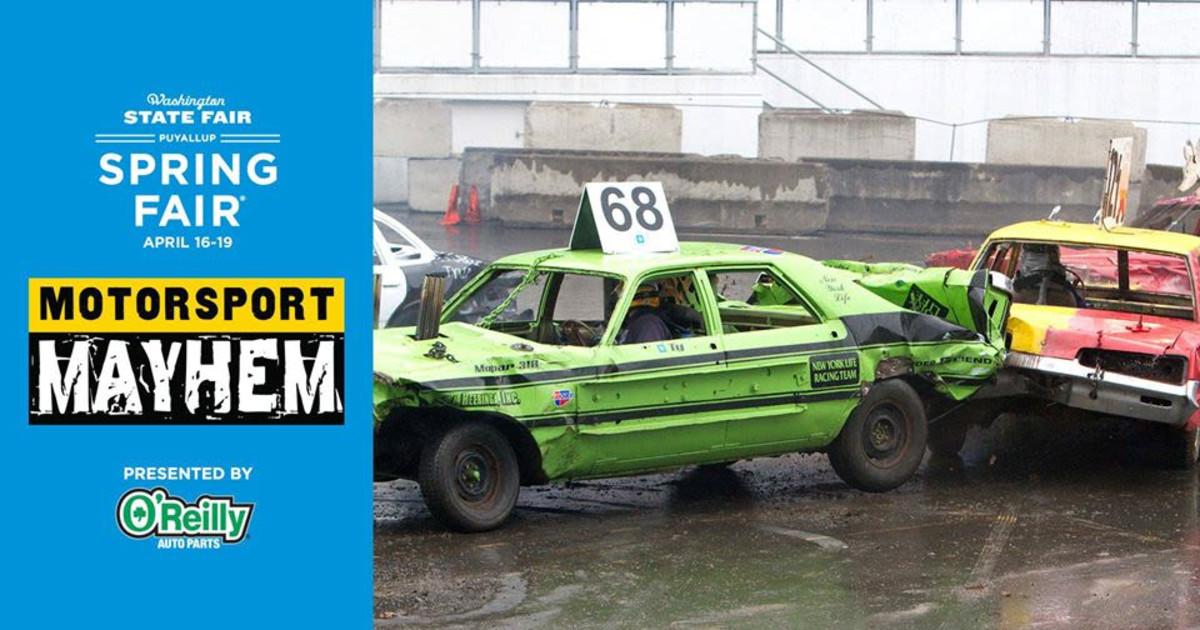Slamfest Demolition Derby 19 Apr 2020