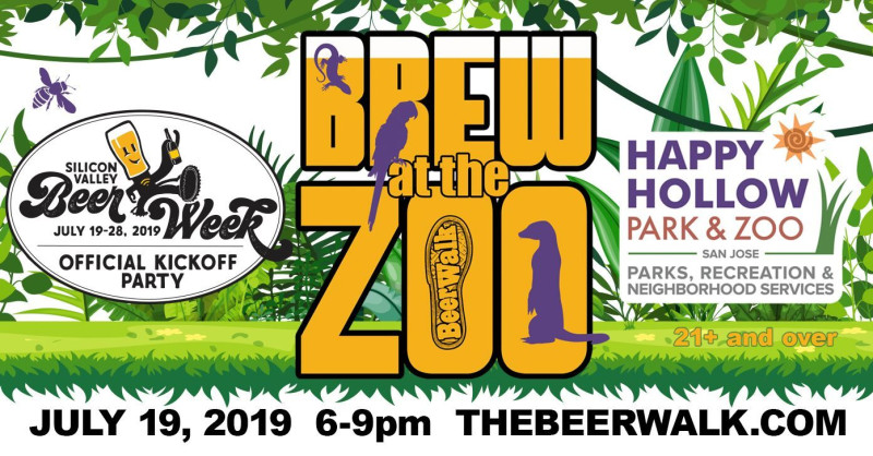 Brew at the zoo in San Jose at Happy Hallow Park & Zoo