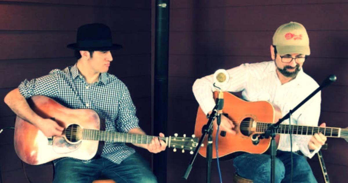 Eddie Collins and Max Zimmet Duo