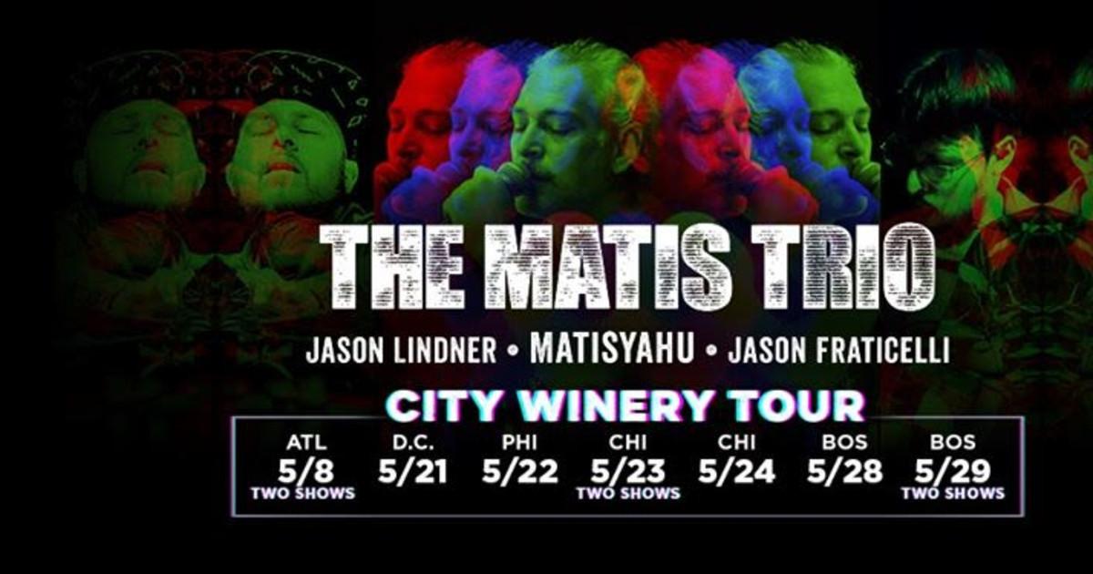 The Matis Trio - An Evening with Matisyahu