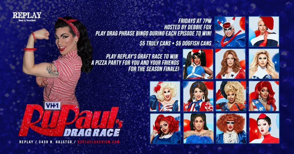 Chicago 5/22/20 Rupaul's Drag Race Viewing Party: Bingo Edition!