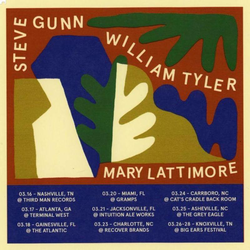steve gunn mary lattimore william tyler cancelled in steve gunn mary lattimore william