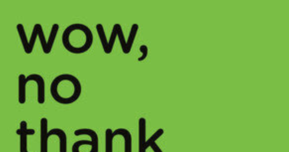Skylight Books presents Samantha Irby's WOW, NO THANK YOU