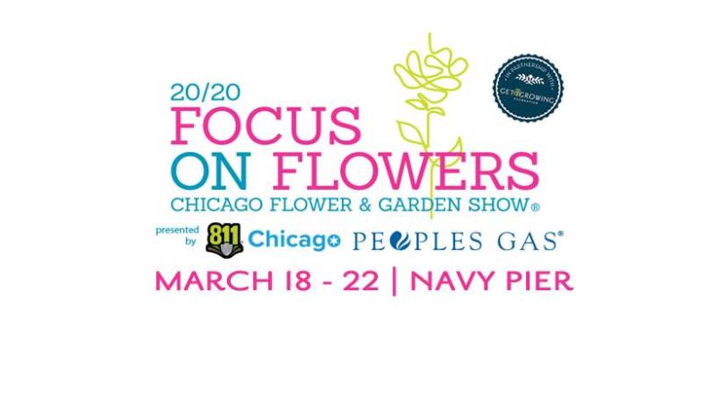 Chicago Flower Garden Show In Chicago At Navy Pier