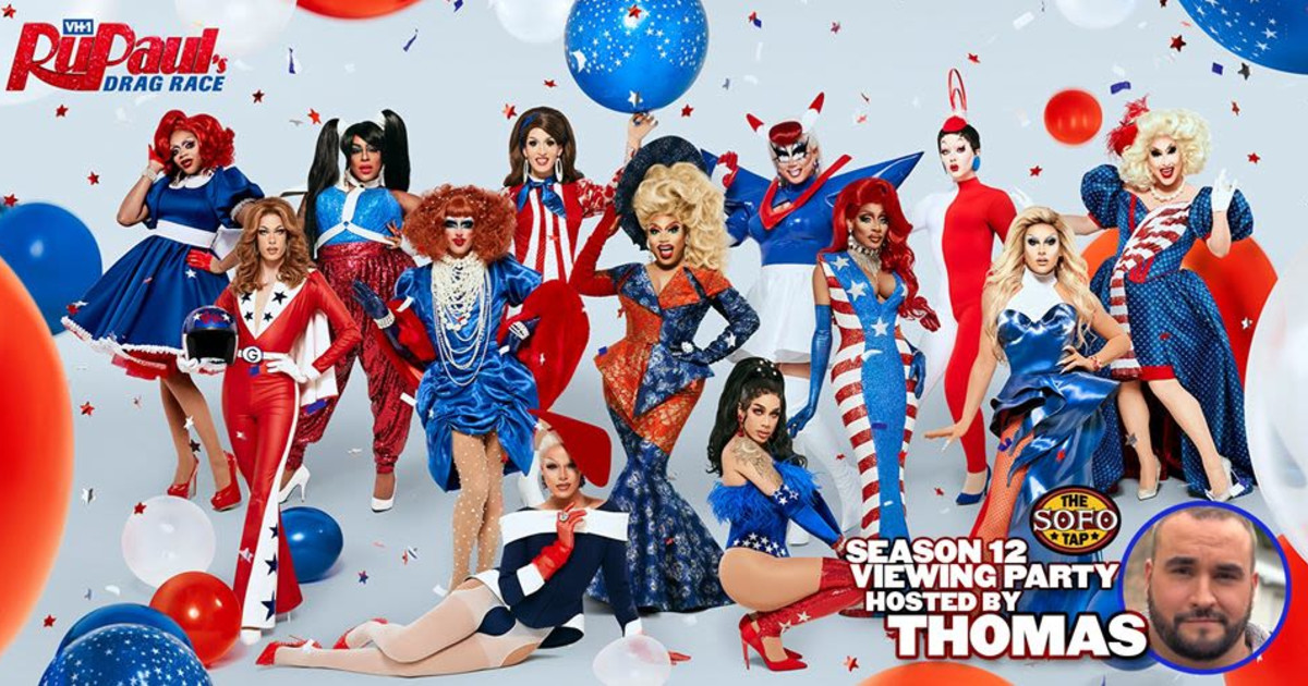Chicago 5/22/20 Rupaul's Drag Race Season 12 at The Sofo Tap