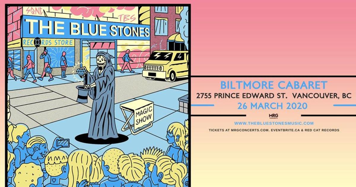 Postponed: The Blue Stones - The Biltmore