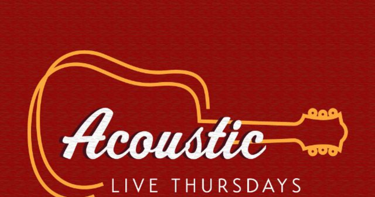 Cancelled: Tim Buono: Acoustic Live