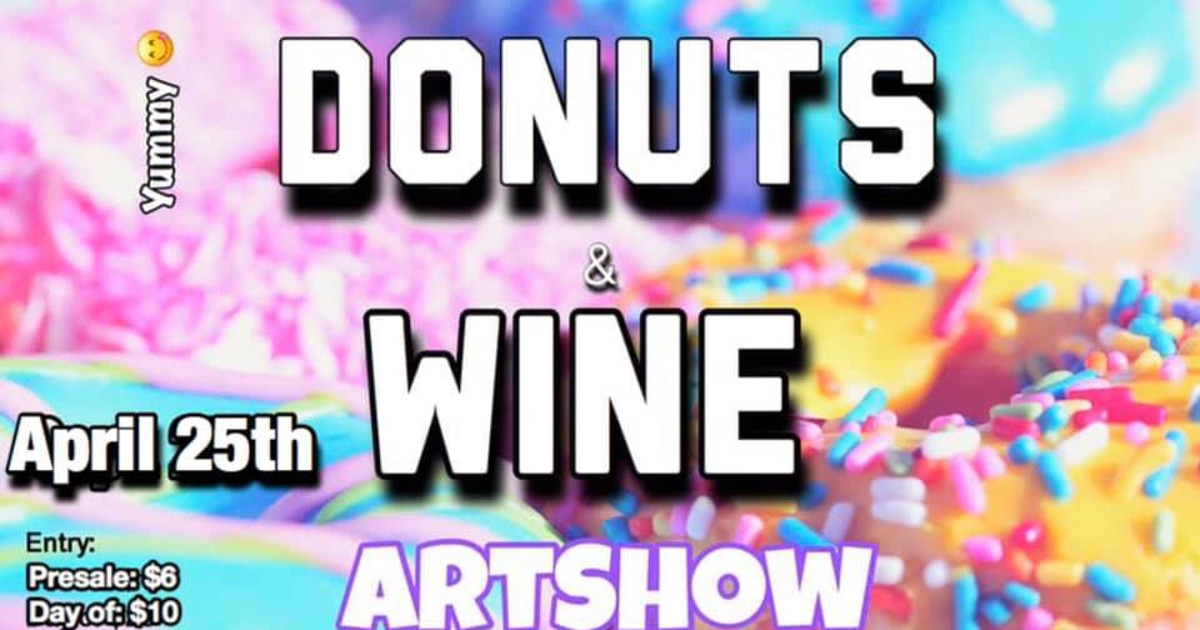 Donuts and Wine Artshow