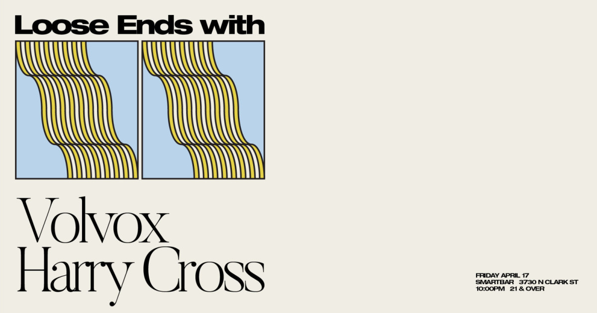Chicago 11/13/20 Volvox w/ Harry Cross