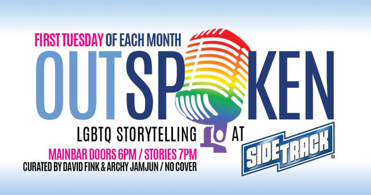 Chicago 8/4/20 Outspoken! Lgbtq Storytelling at Sidetrack