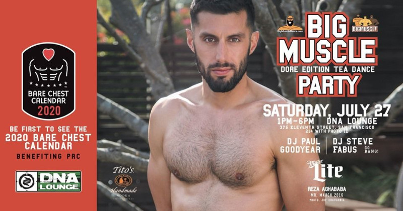 San Francisco Calendar Of Events 2020 Big Muscle Party: Dore Edition in San Francisco at DNA Lounge