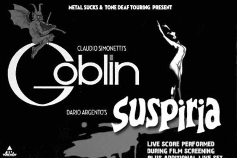 Suspiria Scored Live by Claudio Simonetti's Goblin at Screenland Armour
