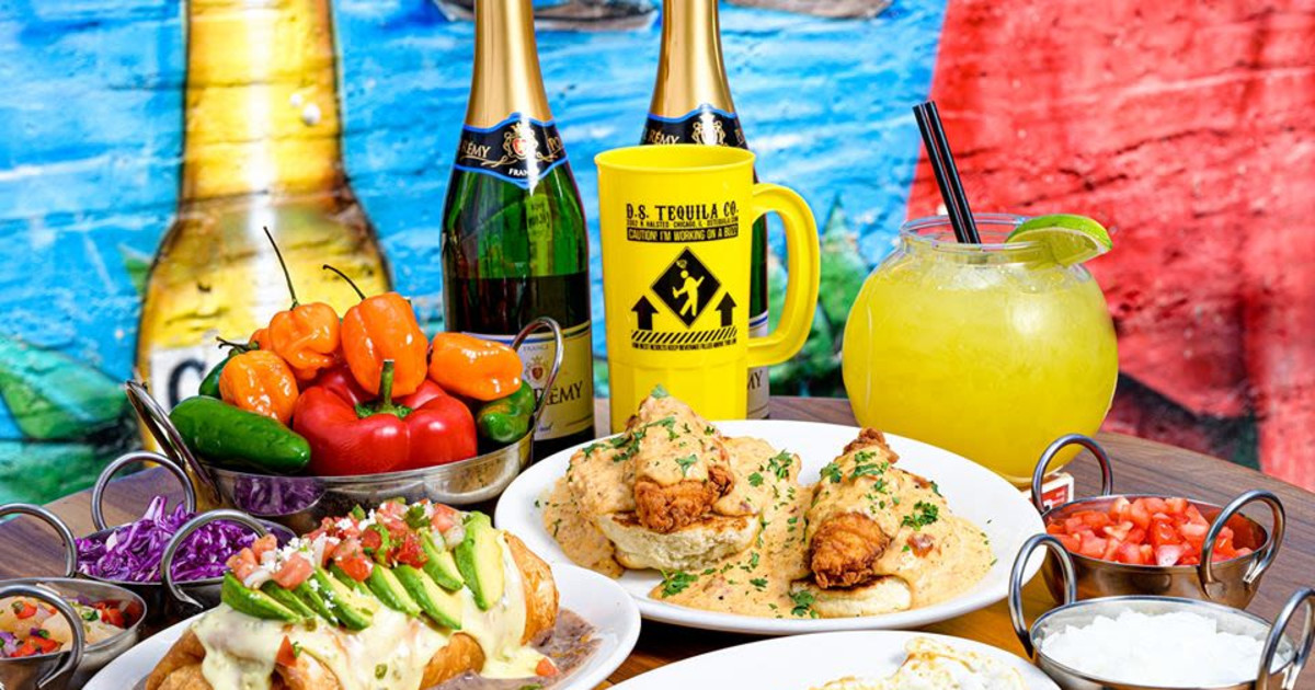 Chicago 9/7/20 Labor Day Brunch at D.S. Tequila Co