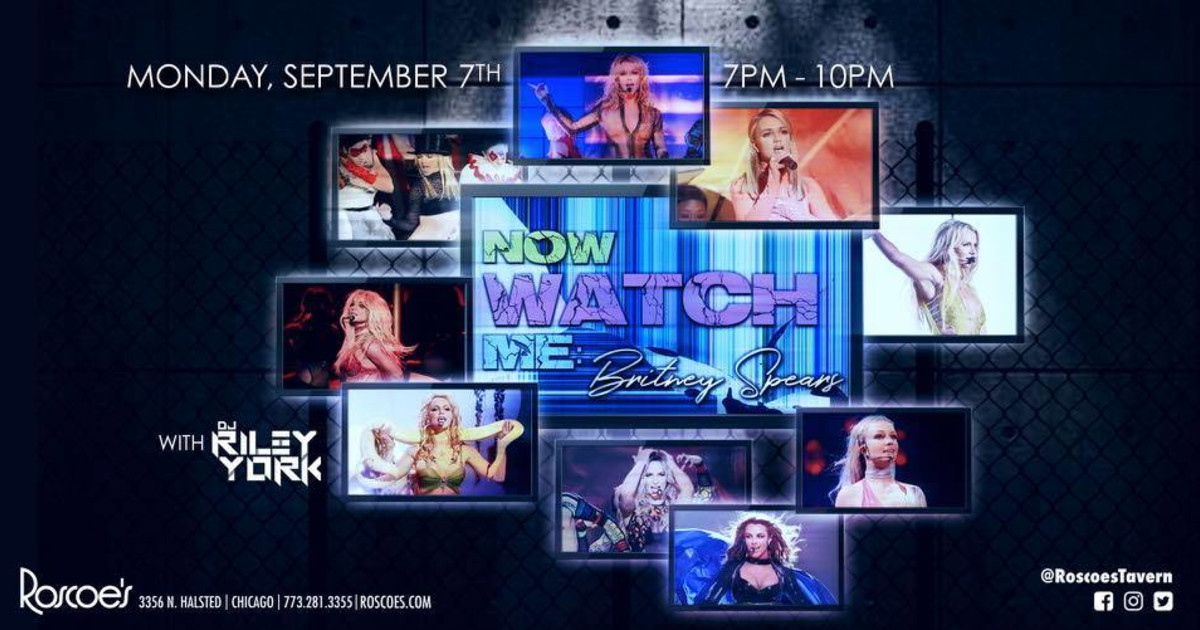 Chicago 9/7/20 Now Watch Me: Britney Spears!