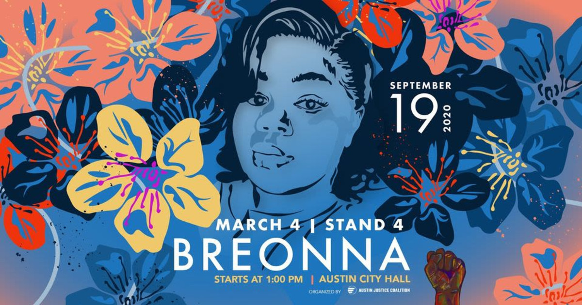 March 4 Stand 4 Breonna Taylor March In Austin At Austin City Hall
