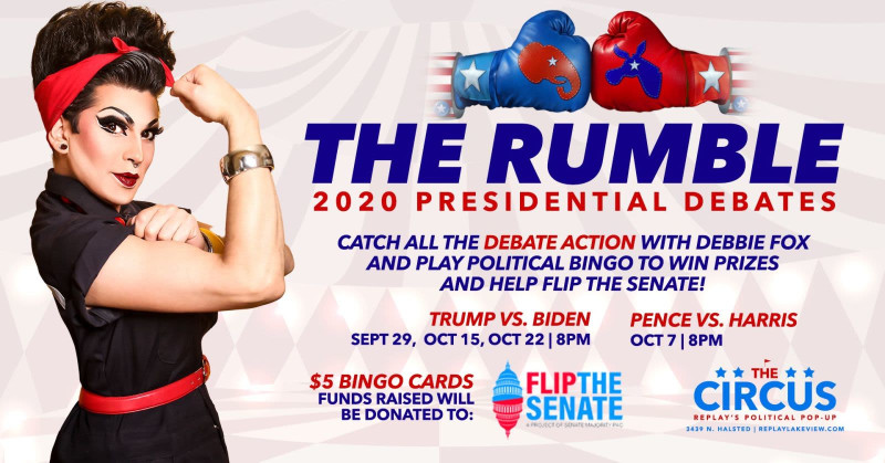 The Rumble 2020 Presidential Debates In Chicago At Replay