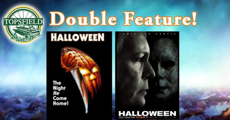 Halloween 1978 And 2020 Feature Halloween 1978 & 2018 at Topsfield Drive In in Boston at