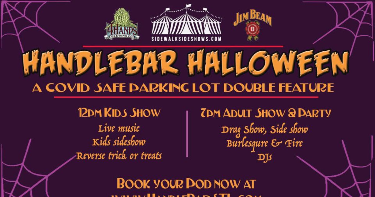 St. Louis Halloween Events On 10-31-2020 Handleween   a Covid Safe Parking Lot Double Freature in St. Louis