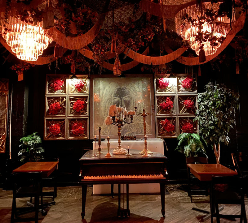 Dining In The Dark At Hubbard Inn In Chicago At Hubbard Inn